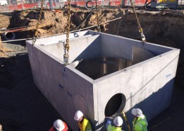 Crown Burswood Stormwater Overflow Treatment System