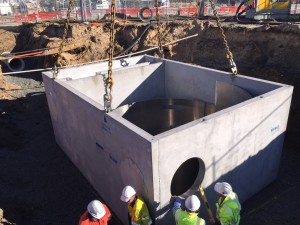 Crown Burswood Stormwater Pipe Design